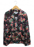 ()の古着「フラワーパジャマシャツ」 マルチカラー