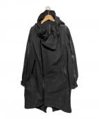 nude:MASAHIKO MARUYAMA(ヌード:マサヒコマルヤマ)の古着「WATER REPELLENT MILITALY COAT」|ブラック