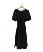 BORDERS at BALCONY(ボーダーズアットバルコニー)の古着「RESORT DRESS」|ブラック