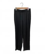 DEUXIEME CLASSE(ドゥーズィエム クラス)の古着「シルクタックパンツ」|ブラック
