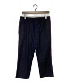 ()の古着「Bee刺繍パンツ」 ネイビー