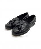 COLE HAAN()の古着「タッセルローファーシューズ」|ブラック