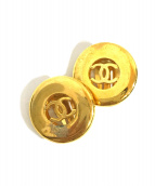 ()の古着「サークルココマークイヤリング」 ゴールド