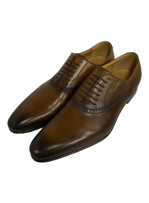 GUCCI(グッチ)GUCCI (グッチ) レースアップシューズ ブラウン サイズ:7 1/2の古着・服飾アイテム