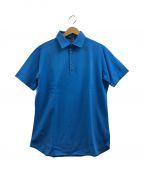 LORO PIANA(ロロピアーナ)の古着「ポロシャツ」 スカイブルー