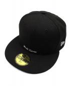 ()の古着「Reverse Box Logo Cap」 ブラック