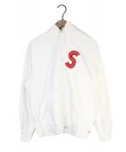 ()の古着「S Logo Hooded Sweatshirt」|ホワイト