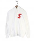 SUPREME(シュプリーム)の古着「S Logo Hooded Sweatshirt」|ホワイト