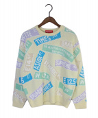()の古着「21SSS Street Signs Sweater」|ベージュ