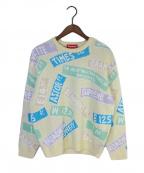SUPREME(シュプリーム)の古着「21SSS Street Signs Sweater」|ベージュ