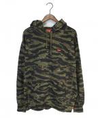 SUPREME(シュプリーム)の古着「Small Box Hooded Sweatshirt」|カーキ