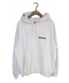 ()の古着「Love Hooded Sweatshirt」|ライトグレー