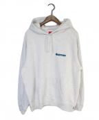 SUPREME(シュプリーム)の古着「Love Hooded Sweatshirt」|ライトグレー