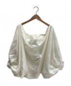 MONCLER(モンクレール)の古着「ナイロンボレロカーディガン」|ホワイト
